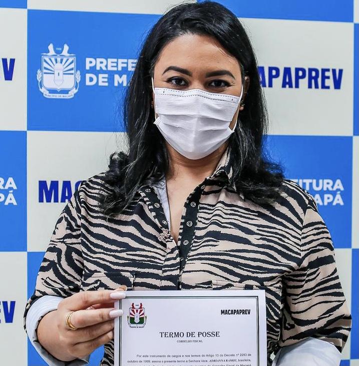 Vereadora Adrianna Ramos toma posse no Conselho Fiscal da Macapáprev
