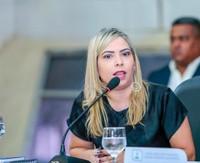 Vereadora Bruna Guimarães preside audiência pública sobre a Reforma da Previdência.