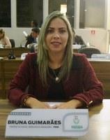 Vereadora Bruna Guimarães quer mais policiamento na praça da Caixa D'água, no Buritizal