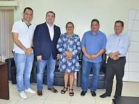 Vereadora de Oiapique, Irmã Creusa, visita a Câmara Municipal de Macapá