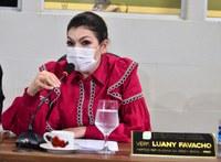 Vereadora Luany Favacho requer asfaltamento em ruas do Bairro Universidade