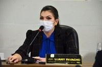 Vereadora Luany Favacho requer melhorias na iluminação pública da cidade