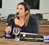 Vereadora Maraína Martins pede iluminação pública para o Parque do Forte