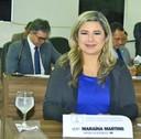 Vereadora Maraína Martins pede iluminação pública para os bairros Cidade Nova e Jardim Felicidade