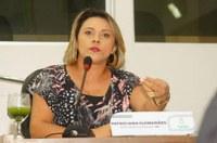 Vereadora Patriciana Guimarães mostra indignação quanto a falta de aprovação em requerimentos em sessão plenária