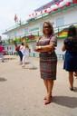 Vereadora Patriciana Guimarães participa da cerimônia de entrega da Unidade Básica Fluvial