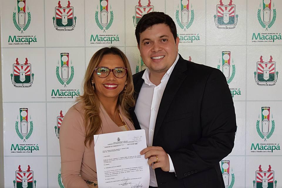 Vereadora Patriciana Guimarães recebe o título honorífico de Cidadã de Macapá!