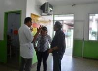 Vereadores aproveitam o feriado para visitar Postos de Saúde de Macapá.