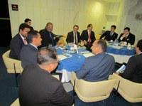 Vereadores articulam em Brasília, implantação do Sistema Interlegis e canal da TV Senado na Câmara Municipal de Macapá.