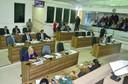 Vereadores debatem as problemáticas da cidade durante sessão ordinária.