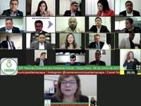 Vereadores debatem estratégias de combate ao feminicídio durante a 25ª Sessão on-line nesta terça-feira