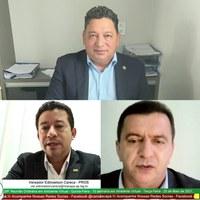 Vereadores Edinoelson Careca, Cláudio e Gian do Nae solicitam recursos por meio de Emendas ao senador Davi Alcolumbre para obras em Macapá