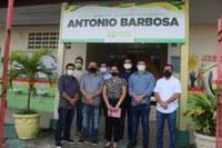 Vereadores fiscalizam se escolas estão preparadas para receber alunos com segurança na pandemia
