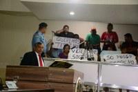 Vereadores intervém por famílias do Alvorada ameaçadas de despejo