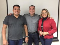 Vereadores Japão Baía e Patriciana Guimarães declaram apoio à administração do presidente Marcelo Dias