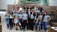 Vereadores Jovens se reúnem para debater os problemas da cidade