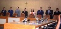 Vereadores participam da posse do desembargador João Guilherme Lages