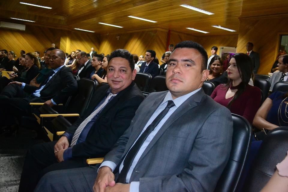 Vereadores participam da posse dos novos dirigentes do TRE-AP.