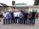 Vereadores participam de inauguração de UBS no Lontra da Pedreira.