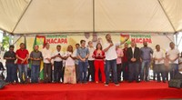 Vereadores prestigiam inauguração da nova Feira Maluca