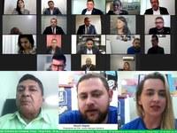 Vereadores travam importantes debates durante a 22ª sessão virtual da CMM