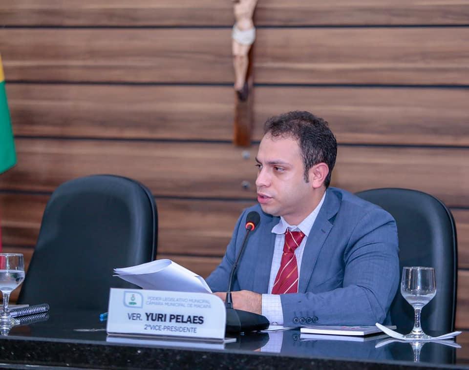 Yuri Pelaes evidencia problemas da cidade na CMM.