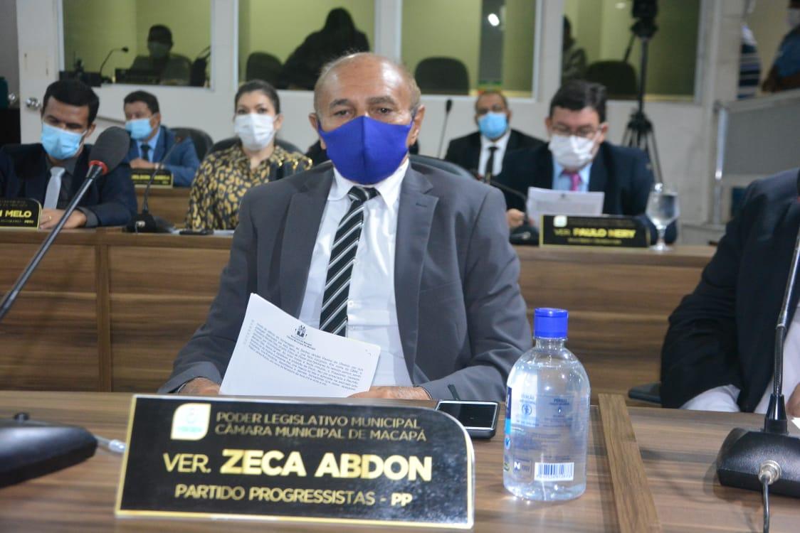 Zeca Abdon pede melhorias para o bairro Central e Rodovia Duca Serra